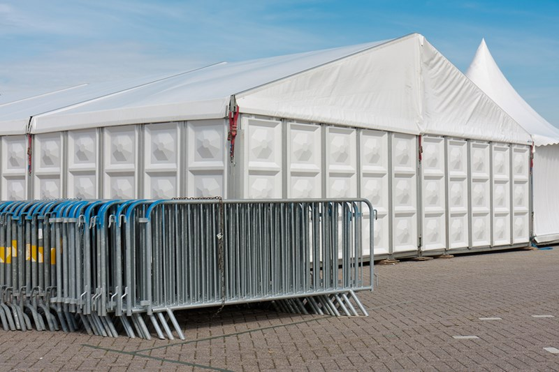 Tent Structures Architecture for Event Security