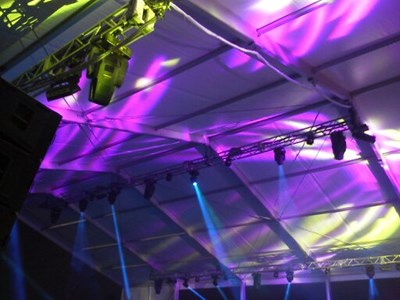 Lighting system in Tent2