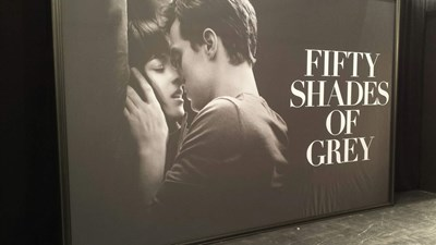 Fifty Shades of Grey Larger Poster