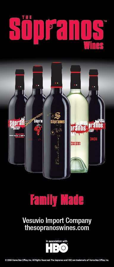 The Sopranos Wines vertical poster2